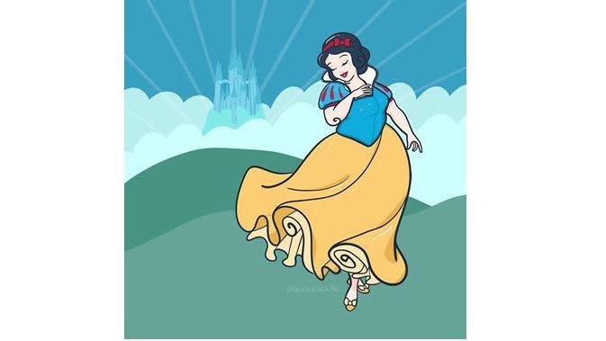 Ilustradi Disney (sumber: Boredpanda)