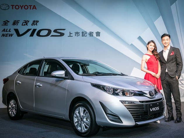 54.9萬起!Toyota All New Vios全新登場
