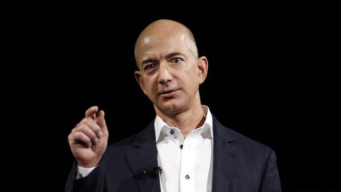 Jeff Bezos, Pendiri dan CEO Amazon. (Forbes.com)