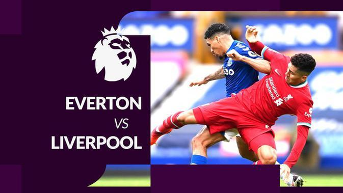 MOTION GRAFIS: Everton Tahan Imbang Liverpool 2-2, Mohamed Salah Cetak 1 Gol