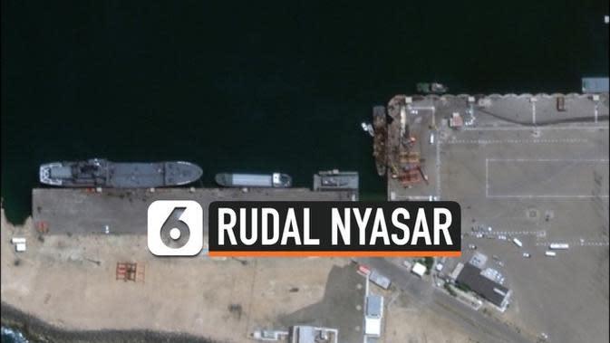 VIDEO: Rudal Iran Salah Sasaran, Bunuh 19 Nelayan