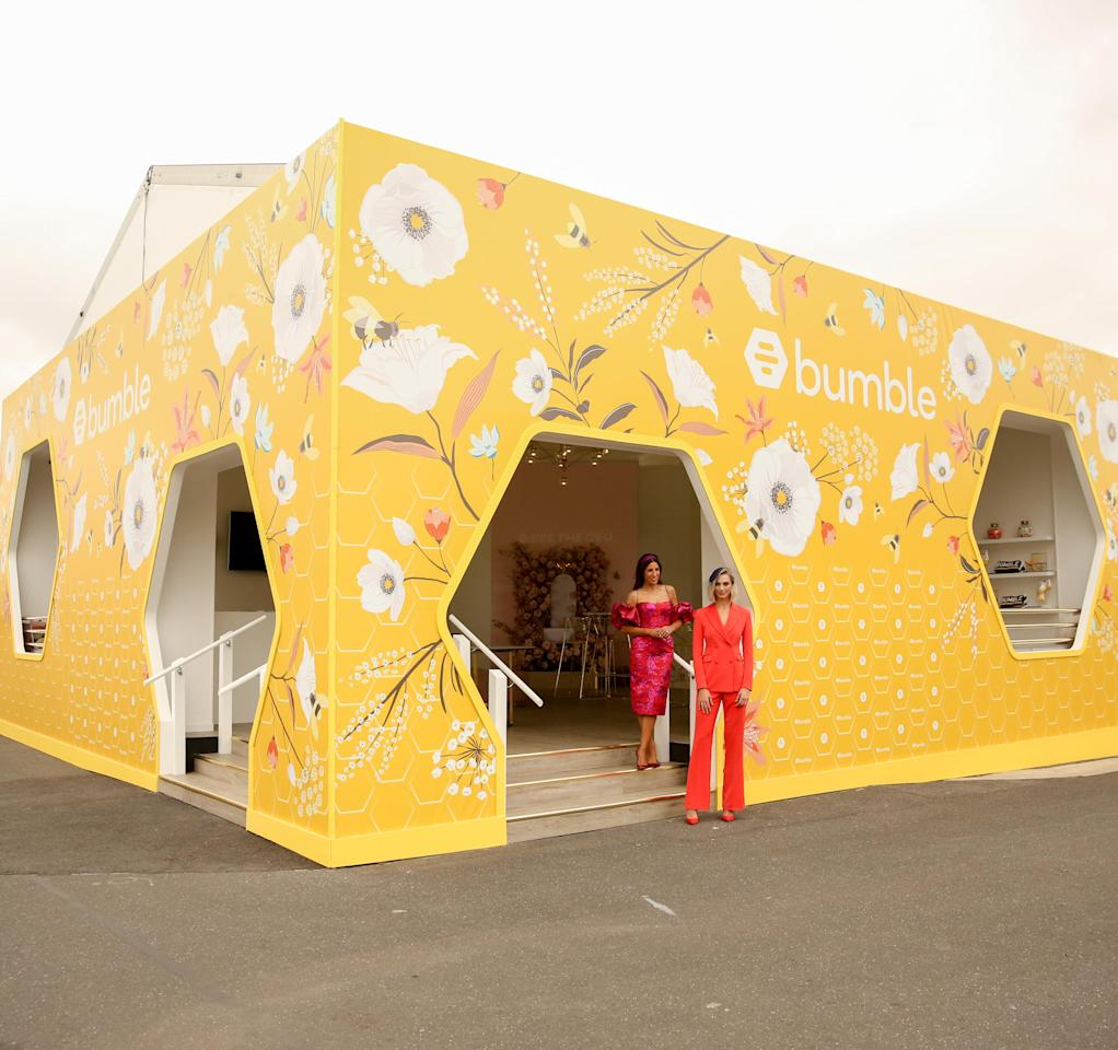<p>This is Bumble's first year in the Birdcage, and it's certainly ready to bring some buzz to Flemington Racecourse. <br />Photo: Bumble </p>