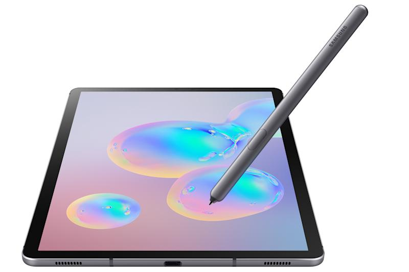 Samsung Galaxy Tab S6 with the S Pen