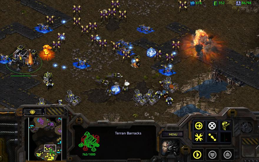 'StarCraft: Remastered' Announced - Screens & Trailer