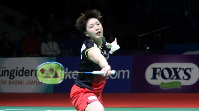 Tunggal putri Jepang, Akane Yamaguchi.