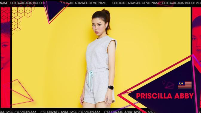 Priscilla Abby for WebTVAsia Awards 2019