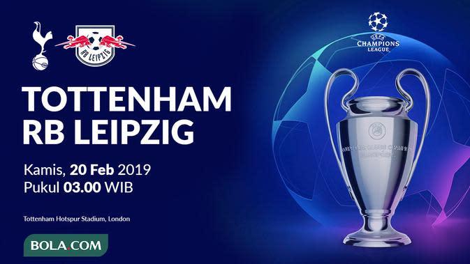 Liga Champions 2019-2020: Tottenham Hotspur vs RB Leipzig. (Bola.com/Dody Iryawan)