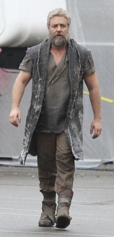 Russell Crowe has really transformed into 'Noah'