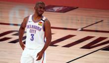 NBA》雷霆、太陽接近達成重磅交易 保羅將聯手布克