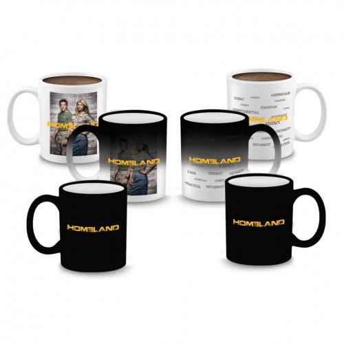 """Homeland"" Heat Sensitive Mug"