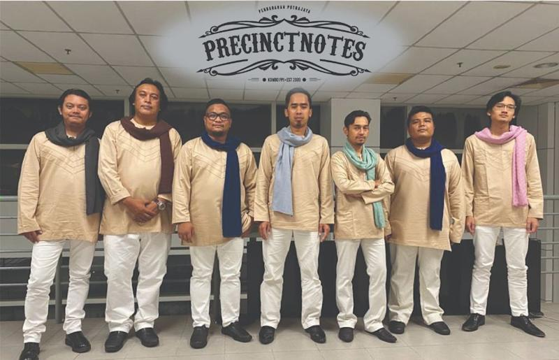 Music band, PRECINCTNOTES has released a catchy PSA song urging Malaysians to stay at home. Picture courtesy of PRECINCTNOTES