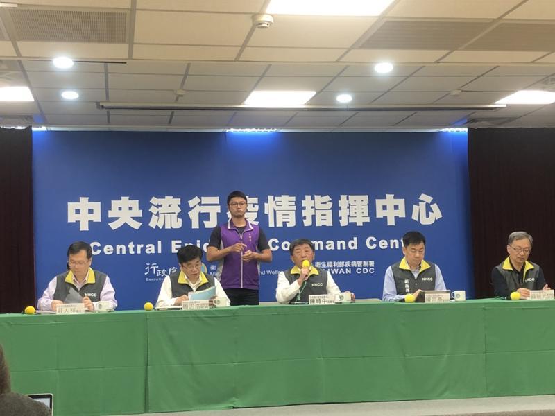 ▲中央流行疫情指揮中心 29 日召開記者會說明疫情最新進度。(圖/記者趙毓琪攝)