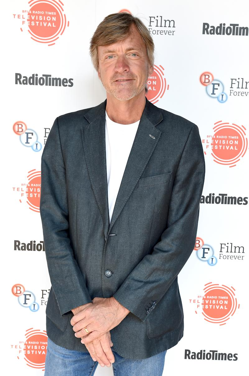 Richard Madeley attends the BFI & Radio Times TV Festival at the BFI Southbank on April 8, 2017 in London, England.