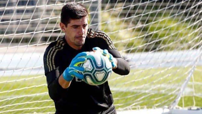 Ganti Nomor Punggung, Thibaut Courtois Ingin Ikuti Jejak Iker Casillas