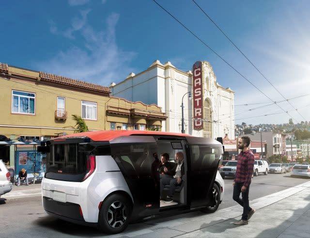 No pedals, no steering wheel: Cruise unveils autonomous shuttle