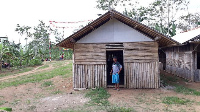 Posko perjuangan warga Cikuya, Bantarsari, Cilacap, usai kehilangan tanah pada 1965 lantaran dituduh PKI. (Foto: Liputan6.com/Muhamad Ridlo)