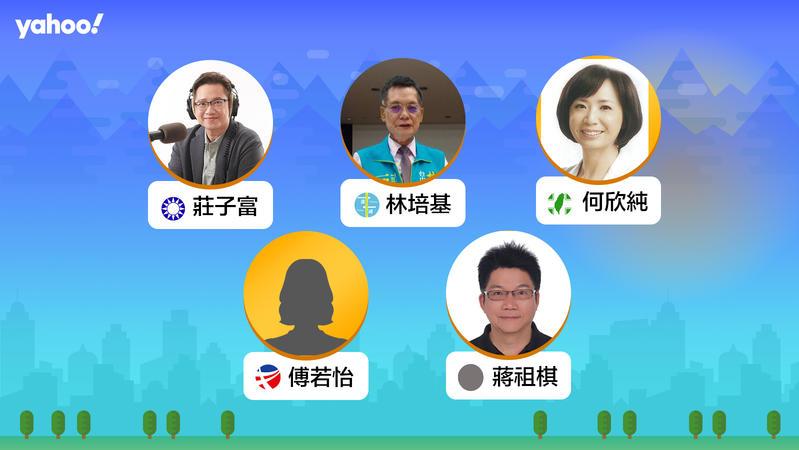 2020立委選舉台中市第七選區(太平,大里),你支持誰?