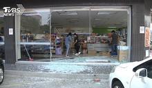 店員疑趕上班!油門誤當煞車踩 撞進超商