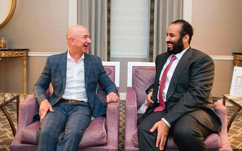 Mohammed bin Salman attempted to intimidate Jeff Bezos after Khashoggi's murder, UN officials claimed