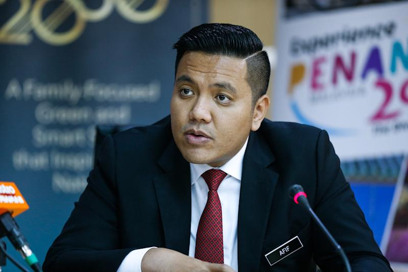 Dr Afif was previously quoted saying Pemuda Negara is an NGO that will be a platform to elevate voices from all ethnicities, especially for the youth, based on democratic principles, justice and shared prosperity. — Picture by Sayuti Zainudin