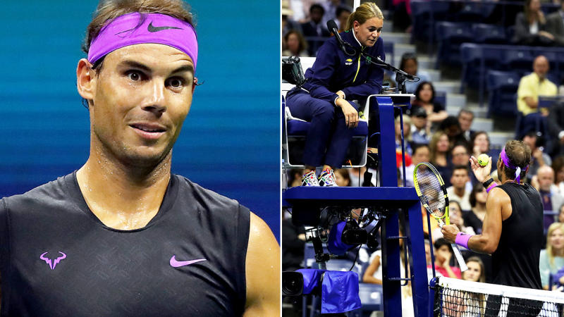 Nadal sends Millman to U.S. Open exit