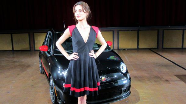 Fiat 500 Abarth all but sold out thanks to Catrinel Menghia
