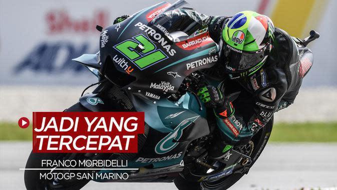 VIDEO: Franco Morbidelli Tercepat di MotoGP San Marino, Valentino Rossi Gagal Podium