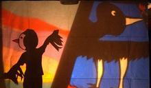 秋野芒伴部落學童 用光影點亮神話