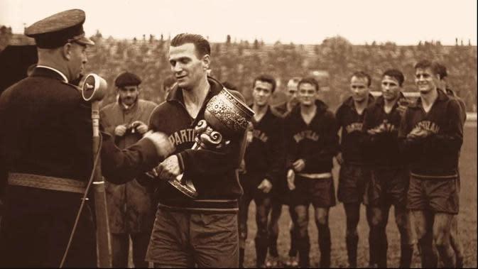 Bintang Partizan Stjepan Bobek. (Dok UEFA)