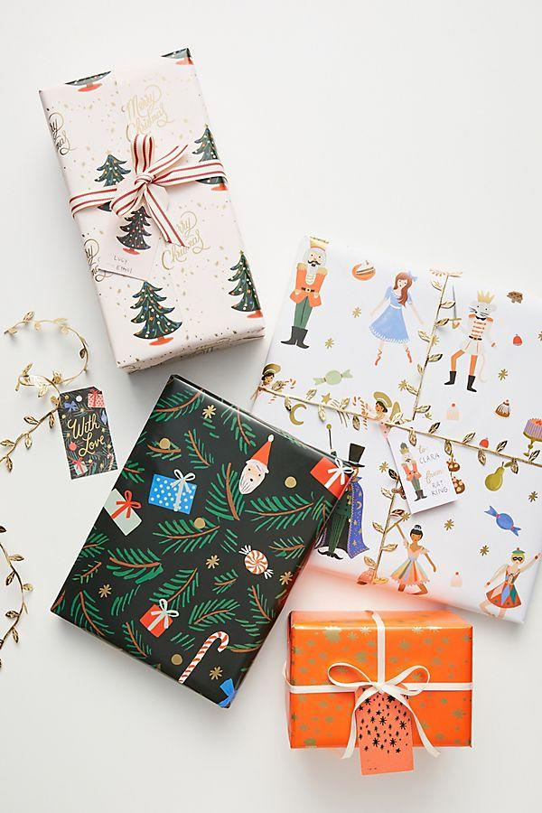 Rifle Paper Co. for Anthropologie Holiday Wrapping Paper Book