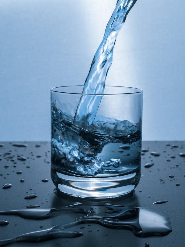 Ilustrasi air putih. (pexels.com/CC0 License).