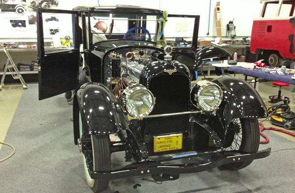 The rebuild of the first Duesenberg nears the finish line