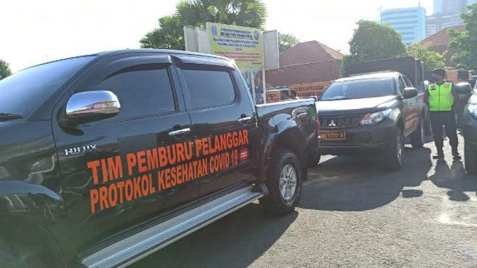 Tim Pemburu Siap Keliling Surabaya Intai Warga Tak Pakai Masker