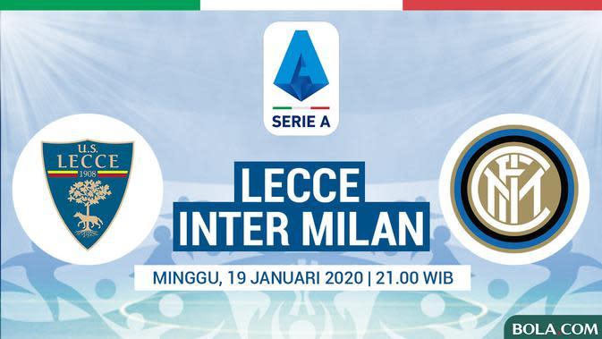 Serie A - Lecce Vs Inter Milan (Bola.com/Adreanus Titus)