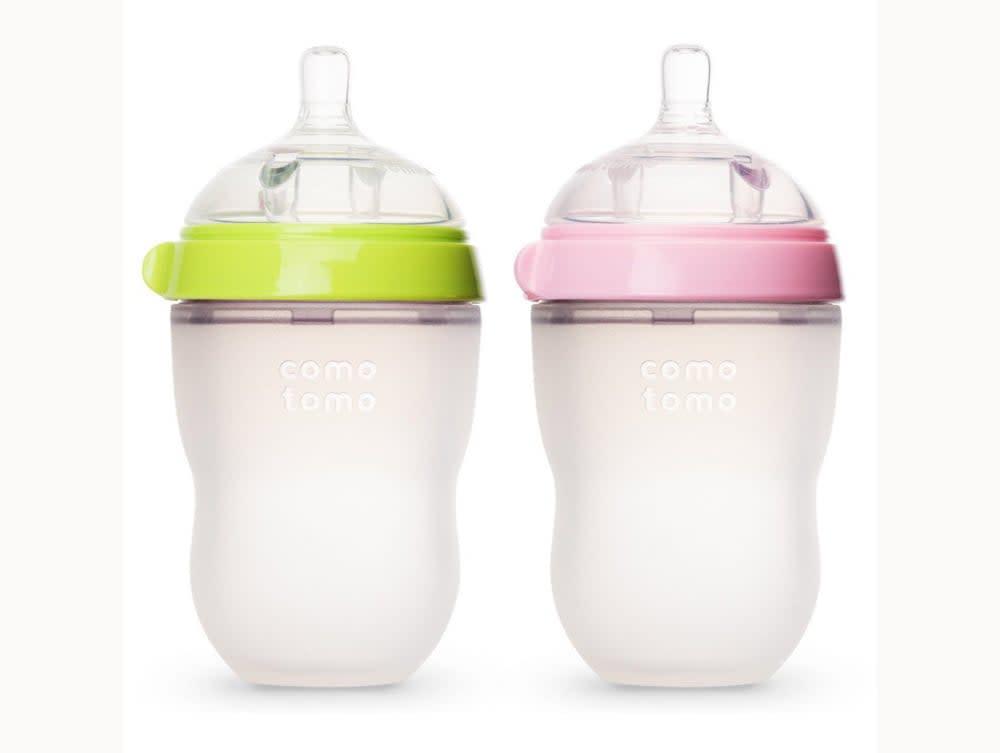 "<p>Need a squeezable bottle? <a href=""https://www.popsugar.com/buy/Comotomo-Baby-Bottles-313394?p_name=Comotomo%20Baby%20Bottles&retailer=bedbathandbeyond.com&pid=313394&price=24&evar1=moms%3Aus&evar9=46856353&evar98=https%3A%2F%2Fwww.popsugar.com%2Ffamily%2Fphoto-gallery%2F46856353%2Fimage%2F46856381%2FComotomo-Baby-Bottles&list1=black%20friday%2Ckid%20shopping%2Csale%20shopping%2Cblack%20friday%20sales%2Csales%20and%20deals&prop13=api&pdata=1"" rel=""nofollow"" data-shoppable-link=""1"" target=""_blank"" class=""ga-track"" data-ga-category=""Related"" data-ga-label=""http://www.bedbathandbeyond.com/store/product/comotomo-trade-8-ounce-baby-bottles-in-green-2-pack/1041570104"" data-ga-action=""In-Line Links"">Comotomo Baby Bottles</a> ($24) will be on sale on Amazon from Nov. 28-Dec. 2.</p>"