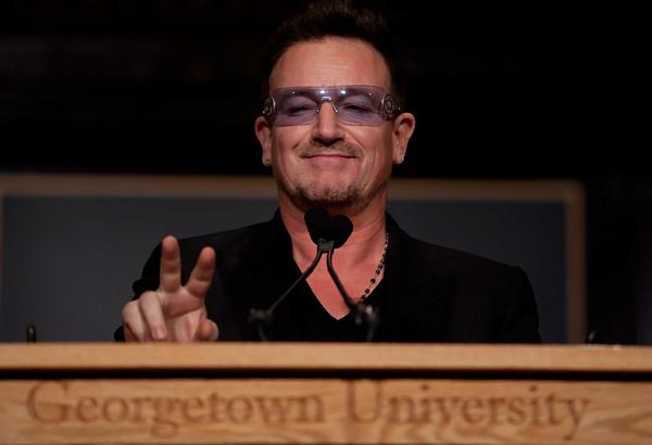 Bono Meets With Joe Biden at White House