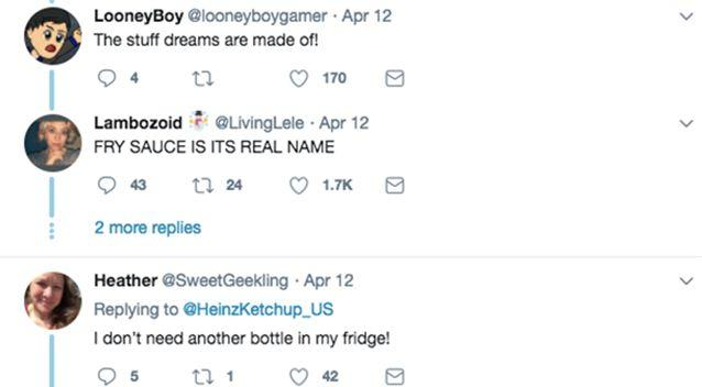 It seems people have very strong opinions about condiments. Source: Twitter