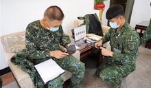 金防部流感疫苗接種示範 守護官兵健康