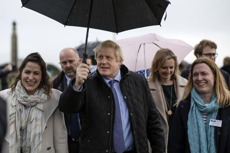 Tempat Johnson digantikan balok es dalam debat TV, Partai Konservatif protes