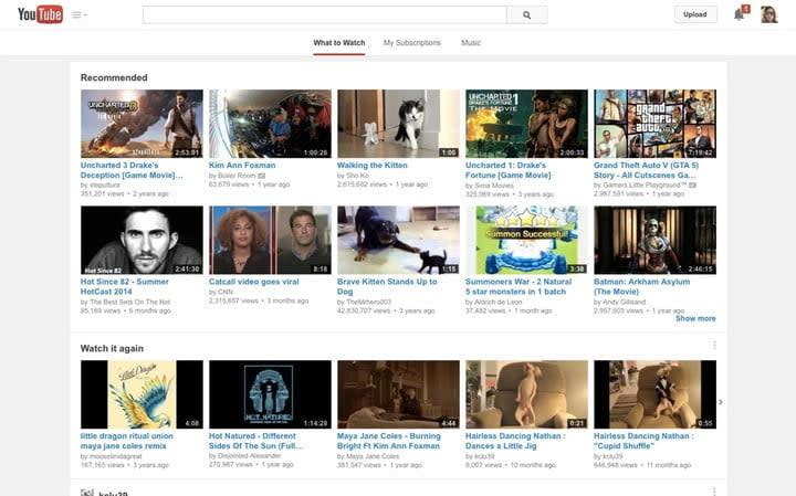 YouTube Chrome OS