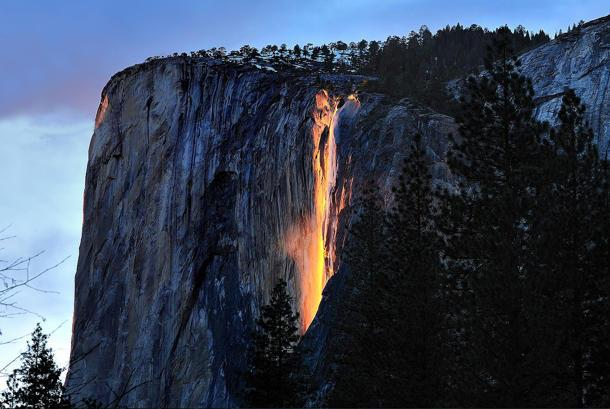 Yosemite's fiery horsetail: Flickr photo of the day