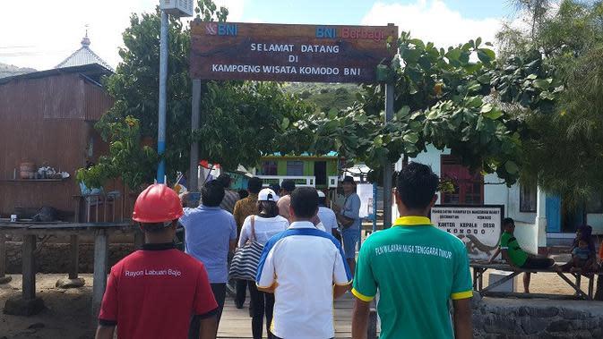 Kampoeng Wisata Pulau Komodo, Flores, NTT (Dok Foto: Liputan6.com/Pebrianto Eko Wicaksono)