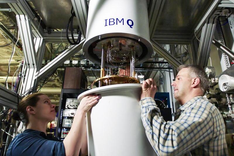 IBM Quantum Computing | Scientists working on a quantum computer