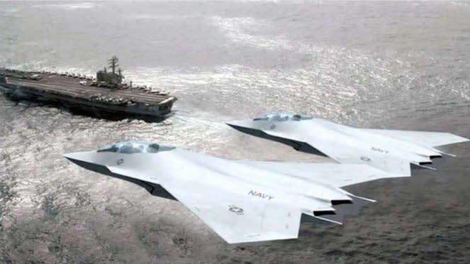 VIVA Militer: Bentuk Pesawat Tempur Amerika yang Baru, Gantikan F-35