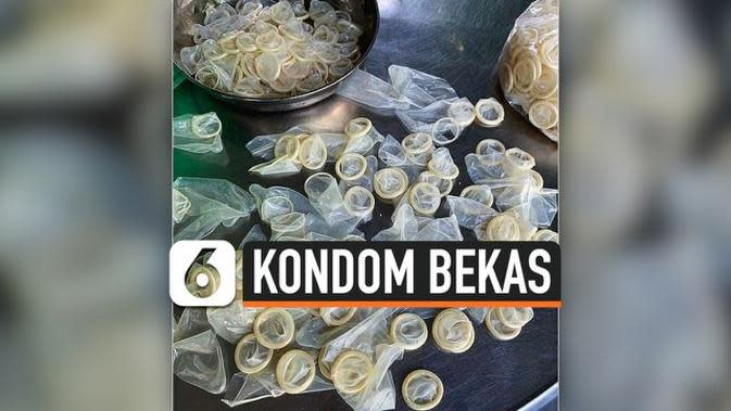 VIDEO: Polisi Vietnam Sita 345 Ribu Kondom Bekas untuk Dijual Kembali