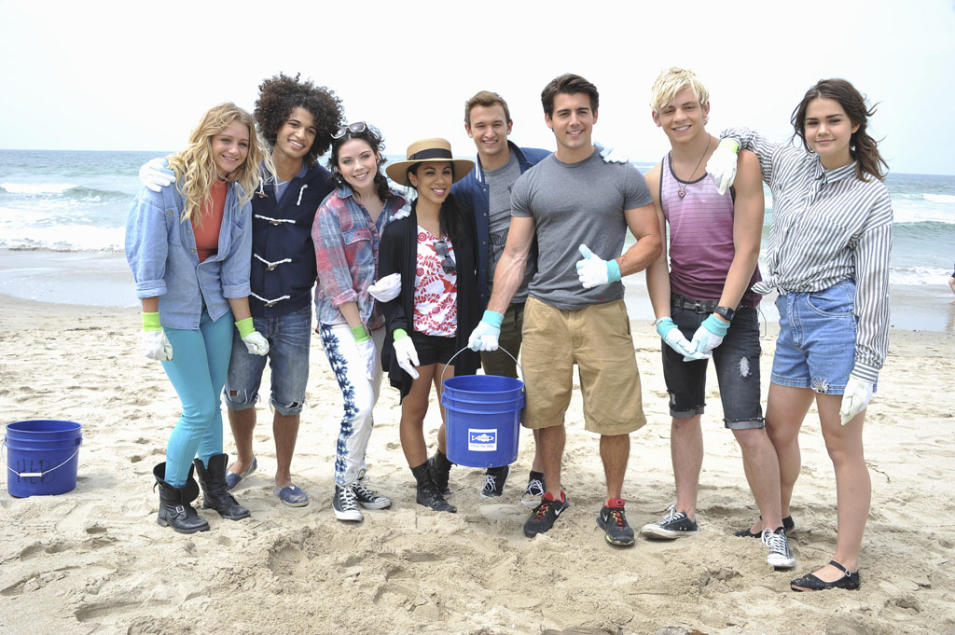 """Teen Beach Movie"" - Mollee Gray, Jordan Fisher, Grace Phipps, Chrissie Fit, Kent Boyd, John Deluca, Ross Lynch, Maia Mitchell"