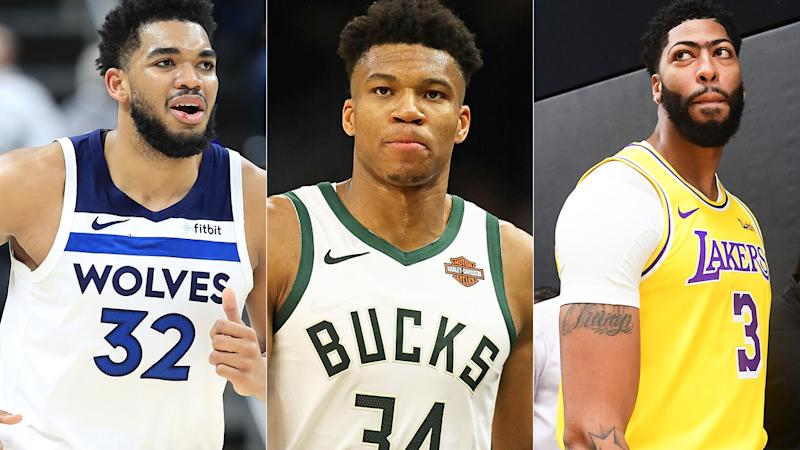 Karl Anthony Towns, Giannis Antetokounmpo and Anthony Davis are all solid options for the number one fantasy basketball pick.