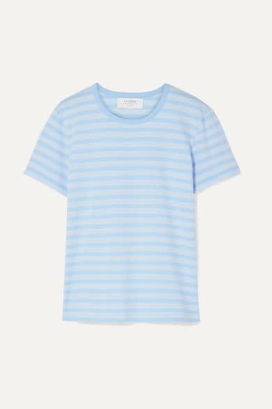 La Ligne Striped Stretch T-shirt