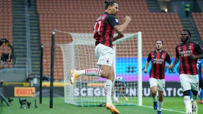 Fakta Menarik Usai Hujan Gol AC Milan Vs AS Roma