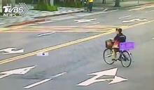 三寶婦路中「切西瓜」遭撞飛 反怪騎士:騎那麼快